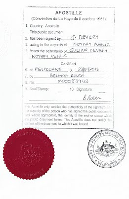 Dfat apostilles notary international document services for Consul authentication
